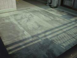 ベランダ床塗装1