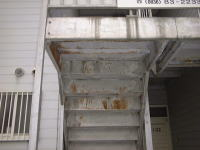 外部階段1