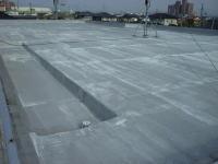 屋上床塗装1