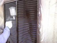 戸袋塗装工程4