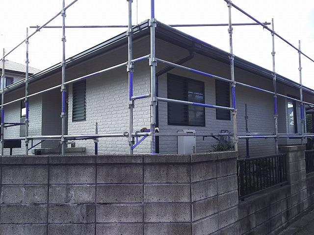 外壁 塗装完了