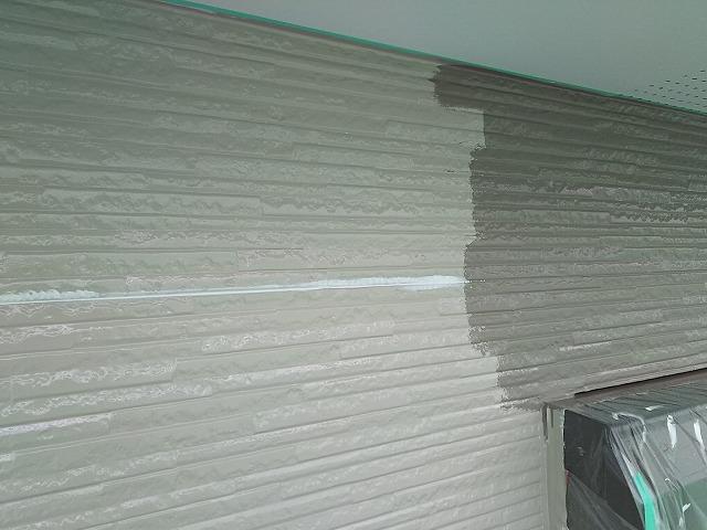 外壁 中塗り~上塗り